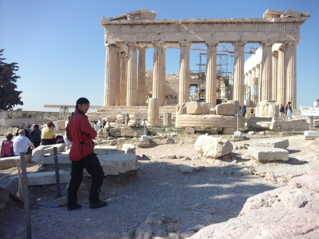 パルテノン神殿の柱